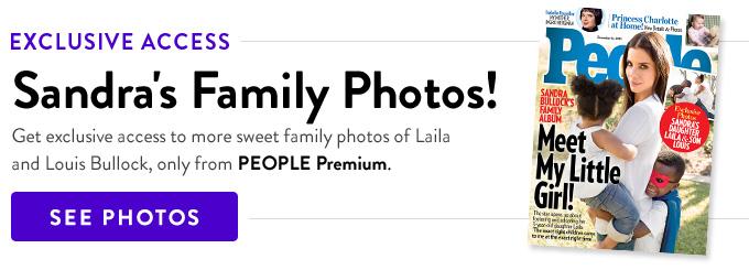 Sandra Bullock Adopts Daughter Laila: PEOPLE Exclusive ... Sandra Bullock Children
