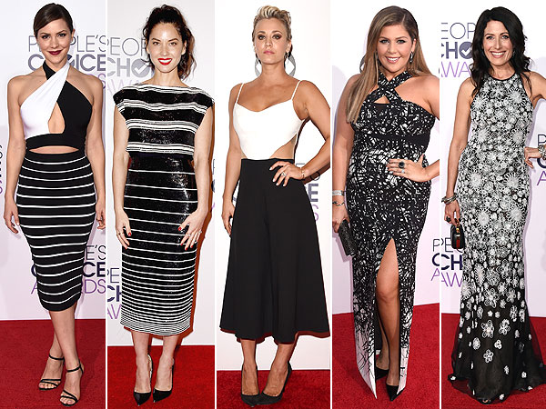 Black & White at People's Choice Awards 2015