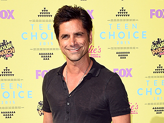John Stamos Is All Smiles (and Jokes!) in First TV Appearance Since Leaving Rehab