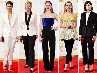 From Kiernan Shipka to Tatiana Maslany, See the Ladies Who Rocked Pants on the Emmys Red Carpet!