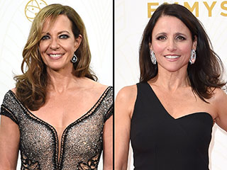The Over-50 Crowd Slayed the Style Game at the Emmys (We're Looking at you Julia Louis-Dreyfus and Allison Janney!)