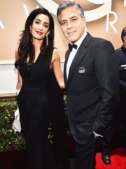 AMAL & GEORGE photo | Amal Alamuddin, George Clooney