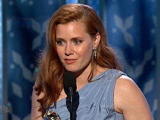 Amy Adams Wins the Golden Globe for Best Actress in a Motion Picture, Musical or Comedy