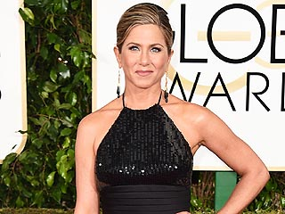 Jennifer Aniston on the Golden Globes Red Carpet: 'I Feel Like a Kid!'