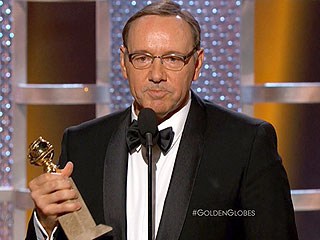 Kevin Spacey Wins the Golden Globe for Best Actor in a TV Series, Drama