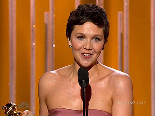 Maggie Gyllenhaal Wins the Golden Globe for Best Actress in a Mini-Series or TV Movie