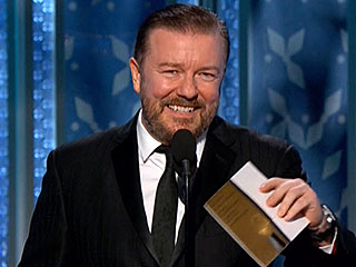 Who Did Ricky Gervais Try Not to Insult at the Golden Globes? | Ricky Gervais