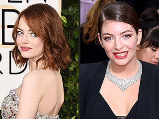 Emma Stone and Lorde Wear Pants to the Golden Globes: Are You Loving Their Looks? | Emma Stone, Lorde