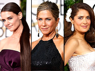 3 Unexpected Golden Globes Hairstyles (Like Katie Holmes' Ponytail Extension!)