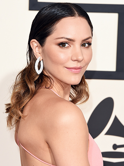 KATHARINE MCPHEE'S SLICKED-BACK HAIR  photo | Katharine McPhee