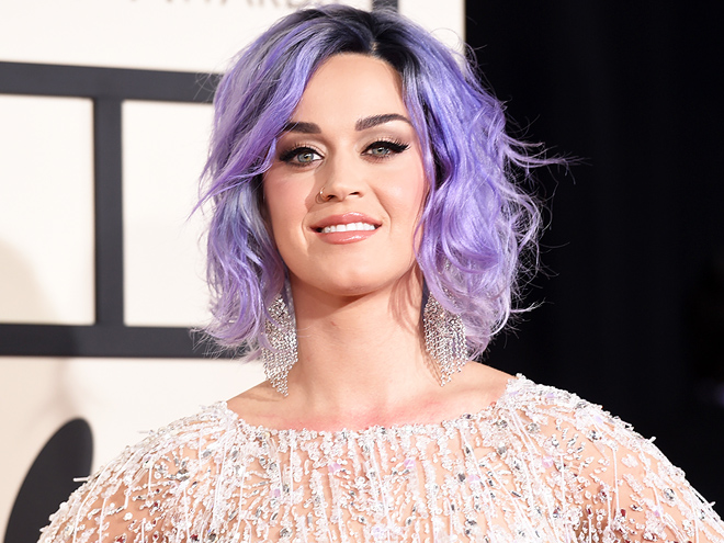 KATY PERRY'S PURPLE HAIR photo | Katy Perry