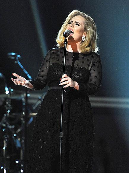 ADELE STRIKES A 'CORD' photo | Adele