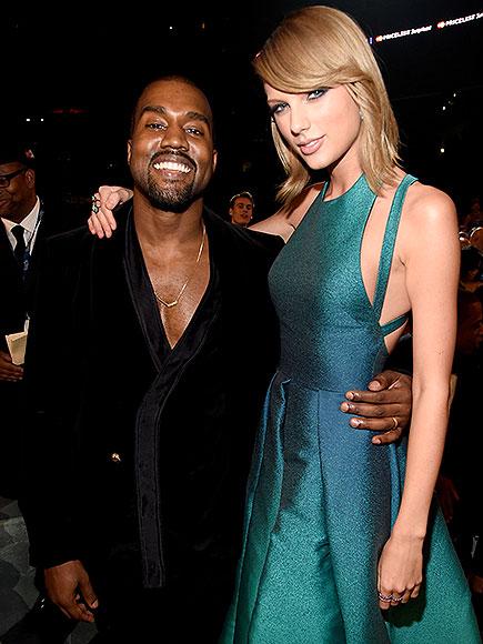 photo | Kanye West, Taylor Swift