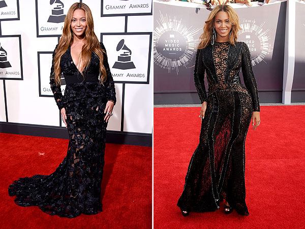 Beyonce attends The 57th Annual GRAMMY Awards on F
