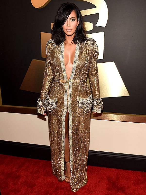 Kim Kardashian Grammys Awards dress