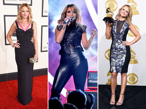 Grammys 2015 miranda lambert outfit changes