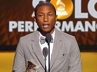Pharrell Williams Wins Grammy Award for Best Urban Contemporary Album