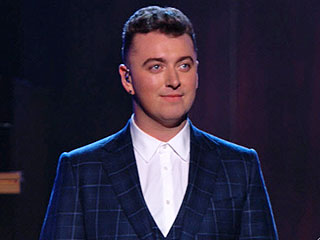 Sam Smith's 'Stay with Me' Wins Record of the Year at the 2015 Grammys