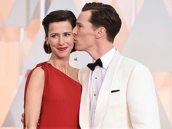 Benedict Cumberbatch Sophie Hunter Oscars