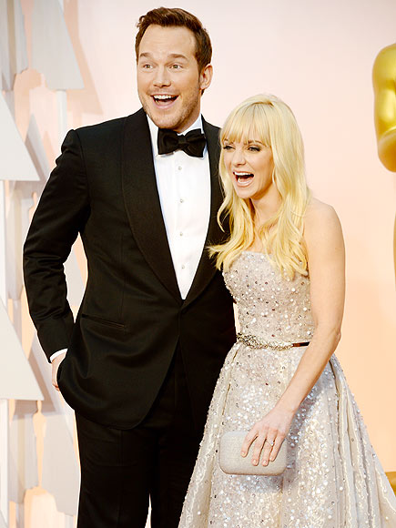 CHRIS PRATT & ANNA FARIS  photo | Anna Faris, Chris Pratt