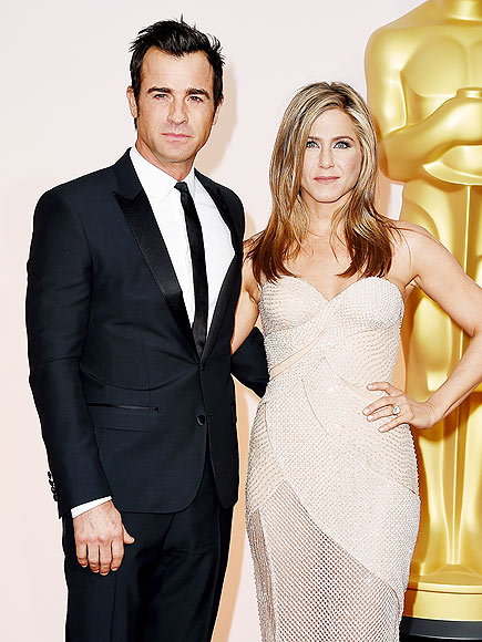 JENNIFER ANISTON & JUSTIN THEROUX photo | Jennifer Aniston, Justin Theroux