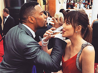 See How Dakota, Reese & Other Stars Fueled Up for the Oscars Red Carpet
