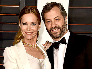 Judd Apatow and Leslie Mann's Oscar Night Game Plan: 'Drinking a Lot' | Judd Apatow, Leslie Mann