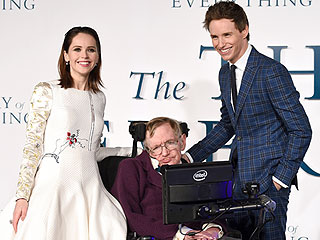 Felicity Jones: Stephen Hawking Flirted with Me