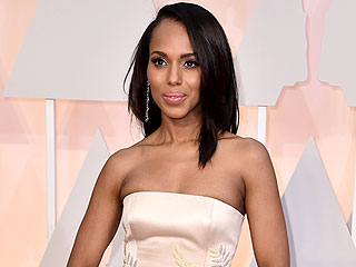 Kerry Washington on Her Oscars Dress: 'I Was Feeling a Little Bit of Olivia'