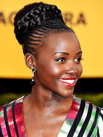 UPDO OF THE NIGHT: LUPITA NYONG'O photo | Lupita Nyong'o
