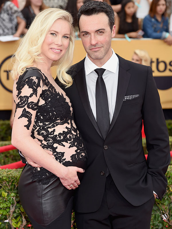 Reid Scott Expecting First Child Son SAG Awards Red Carpet