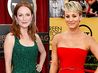 Who Was the Best Dressed at the SAG Awards? See PEOPLE Style Editors' Top 6 | Julianne Moore