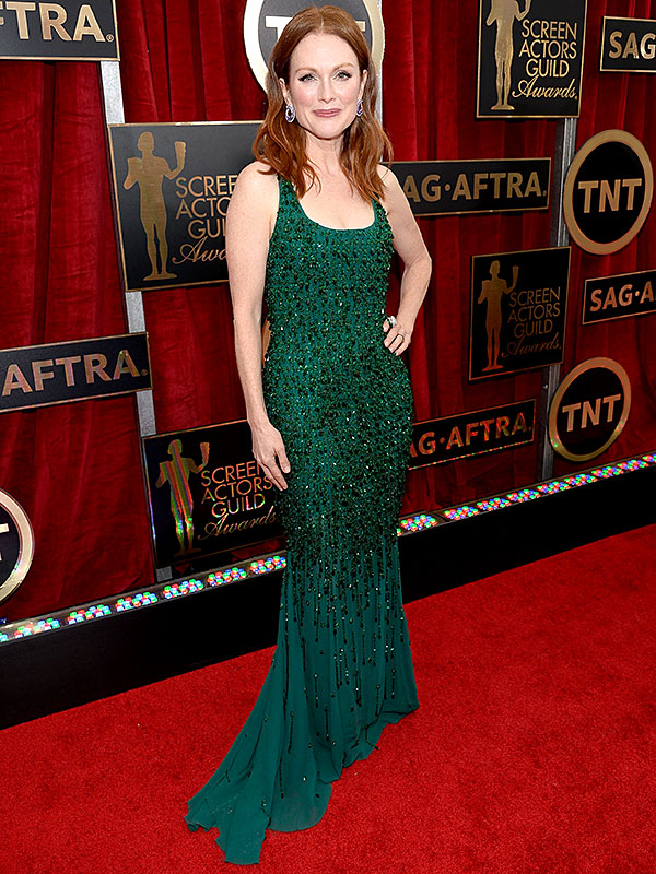 Julianne Moore SAG Awards dress