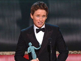 Eddie Redmayne Wins Outstanding Performance by a Male Actor in a Leading Role