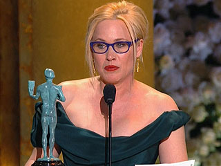 Patricia Arquette Wins SAG Award for Best Supporting Actress