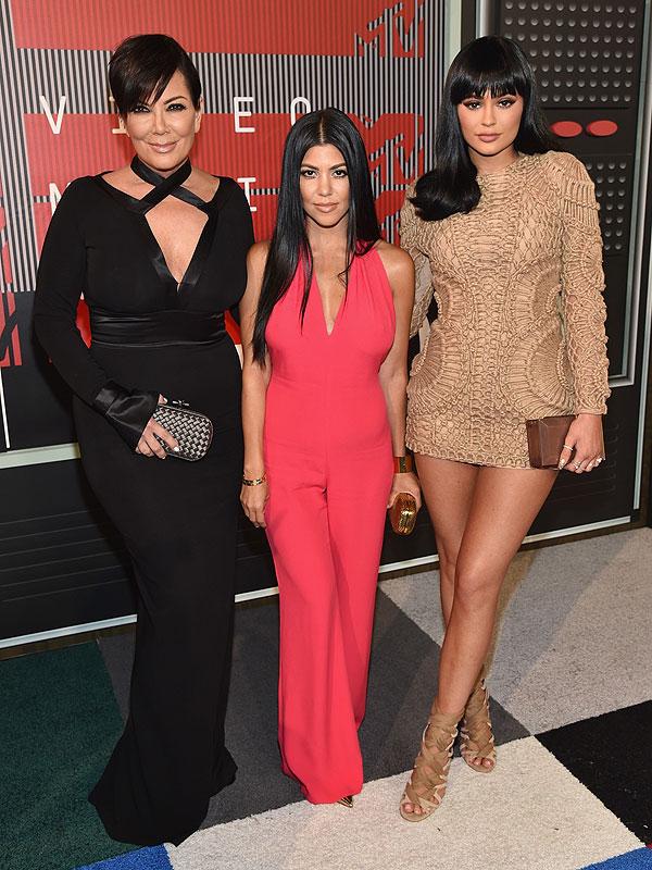 MTV VMAs 2015 Kardashian-Jenner