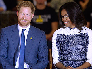 7 Photos That Prove Prince Harry and Michelle Obama Are the Adorable BFFs the World Needs
