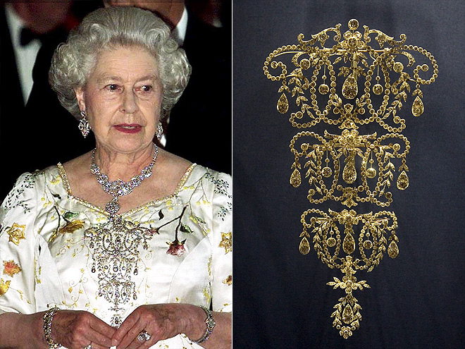queen elizabeth jewelry collection