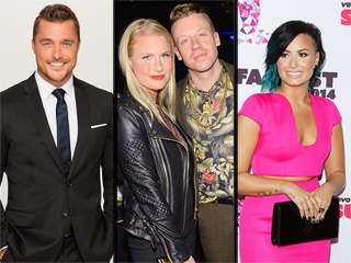 Macklemore's Becoming a Dad, Demi Lovato Loves Her Body & More Weekend News