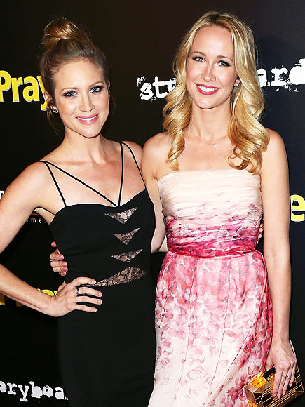 Brittany Snow And Anna Camp Star Tracks: Wednesday...