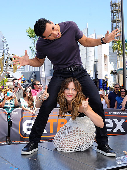 DOWN UNDER photo | Katharine McPhee, Mario Lopez