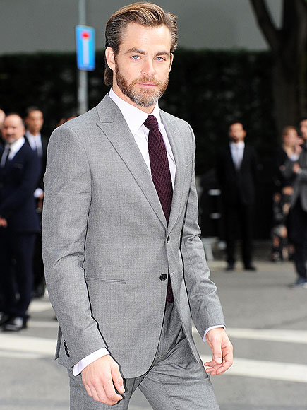 DAPPER DUDE photo | Chris Pine