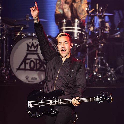 BACK AT IT photo | Pete Wentz