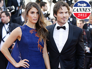 Nikki Reed & Ian Somerhalder Walk First Red Carpet as Newlyweds: See Their Glitzy Arrival at Cannes