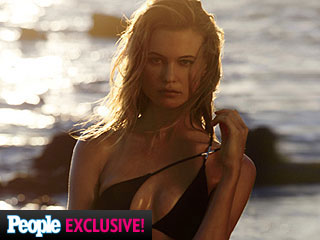Behati Prinsloo Stuns on Victoria's Secret Swim Cover, Reveals She Has an