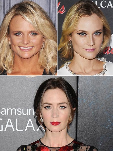 Miranda Lambert, Diane Kruger, Emily Blunt