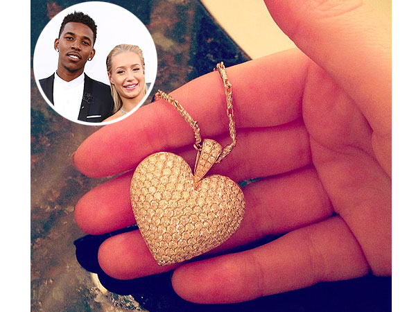 Iggy Azalea Christmas Gift Nick Young