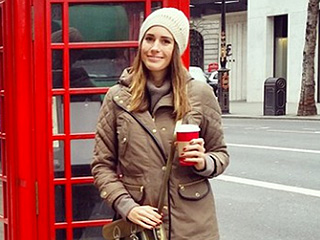 See Stylish Stars Doing Stylish Holiday Things: Louise Roe, Diane Kruger, Khloé Kardashian and More!