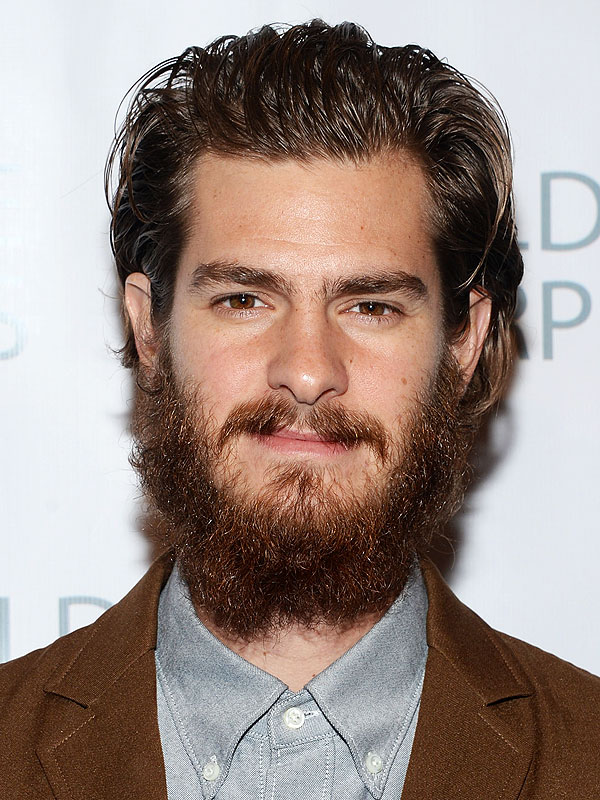 Andrew Garfield Has a Crazy Beard. Let's Look at it on Golden Globe ... Andrew Garfield