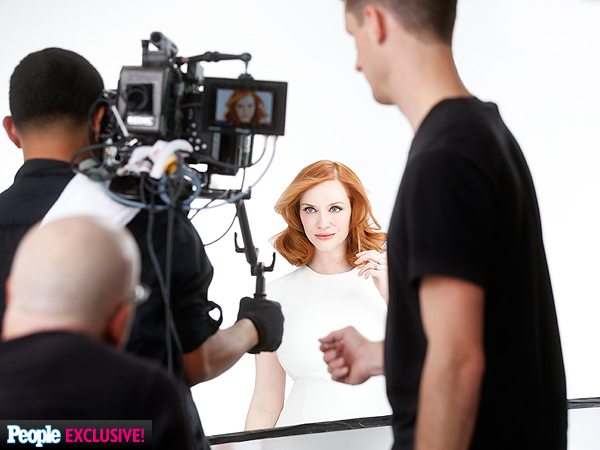 Christina Hendricks Clairol